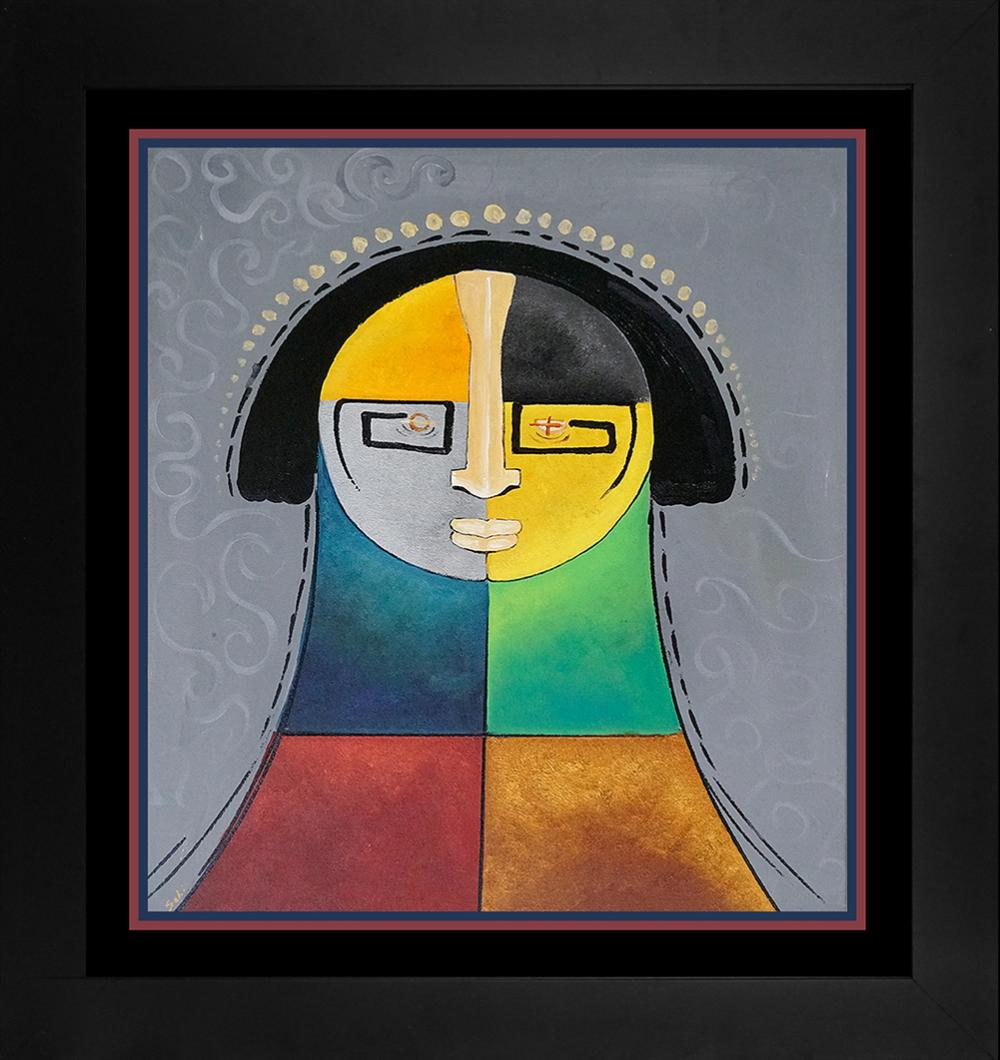 Lot 3324: Gaylord Soli Original on canvas
