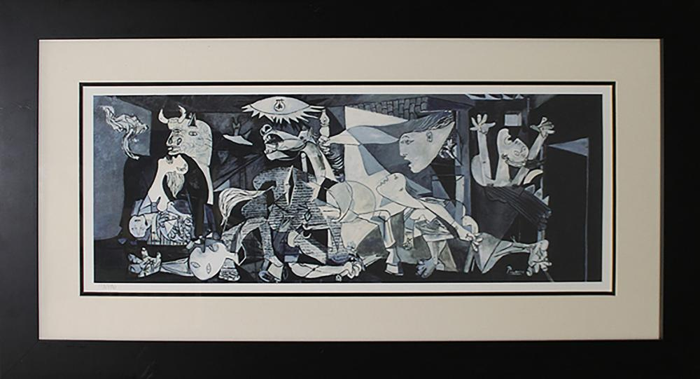 Lot 3386: Limited Edition Guernica after Pablo Picasso