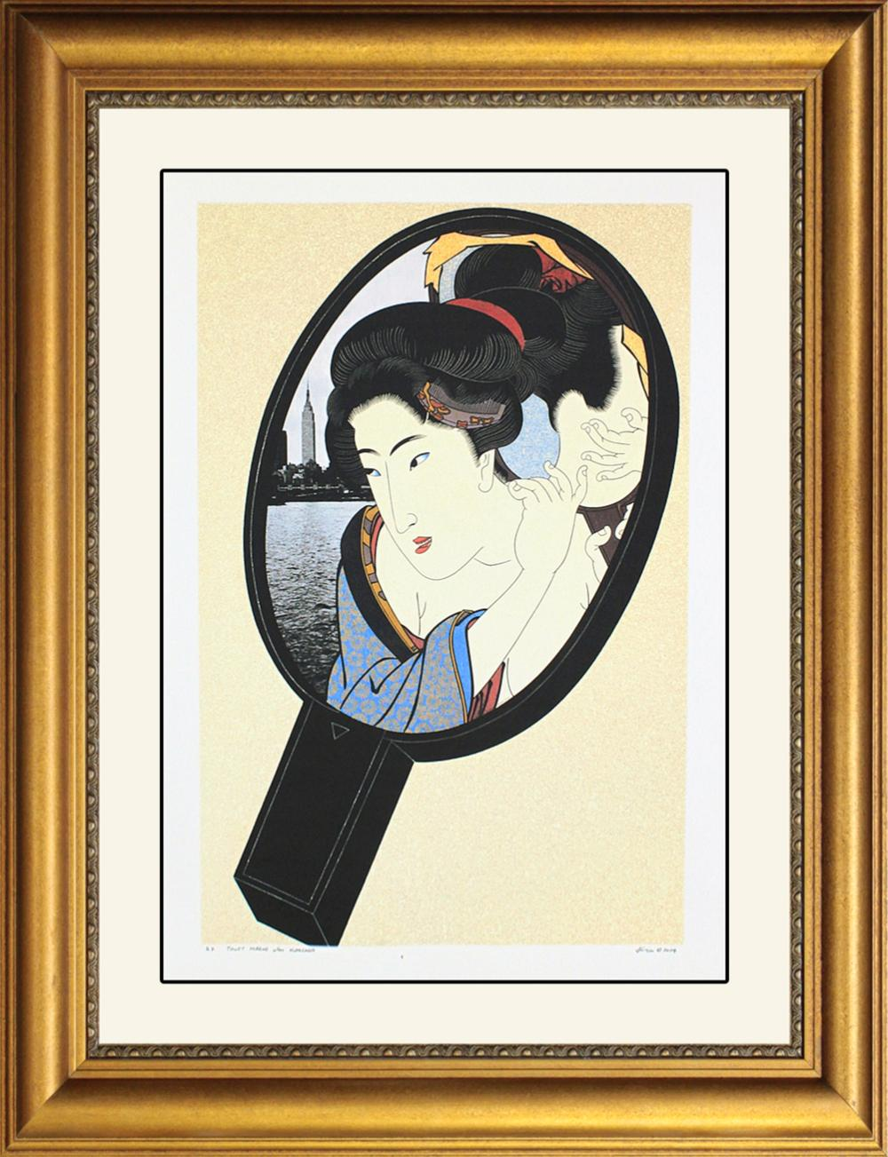Lot 3382: Signed Artist Proof by Cuigin. Ltd Edition Serigraph