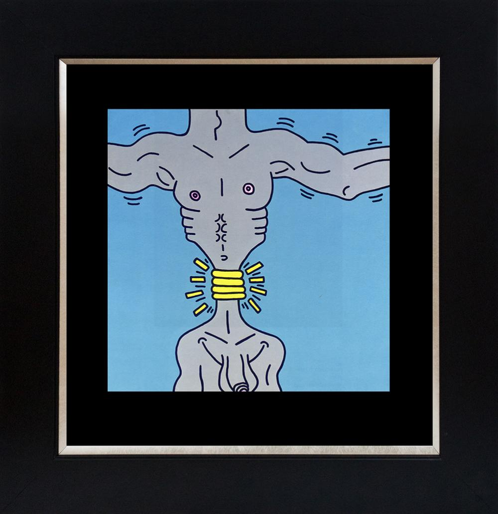 Lot 3403: Keith Haring Lithograph from 1982