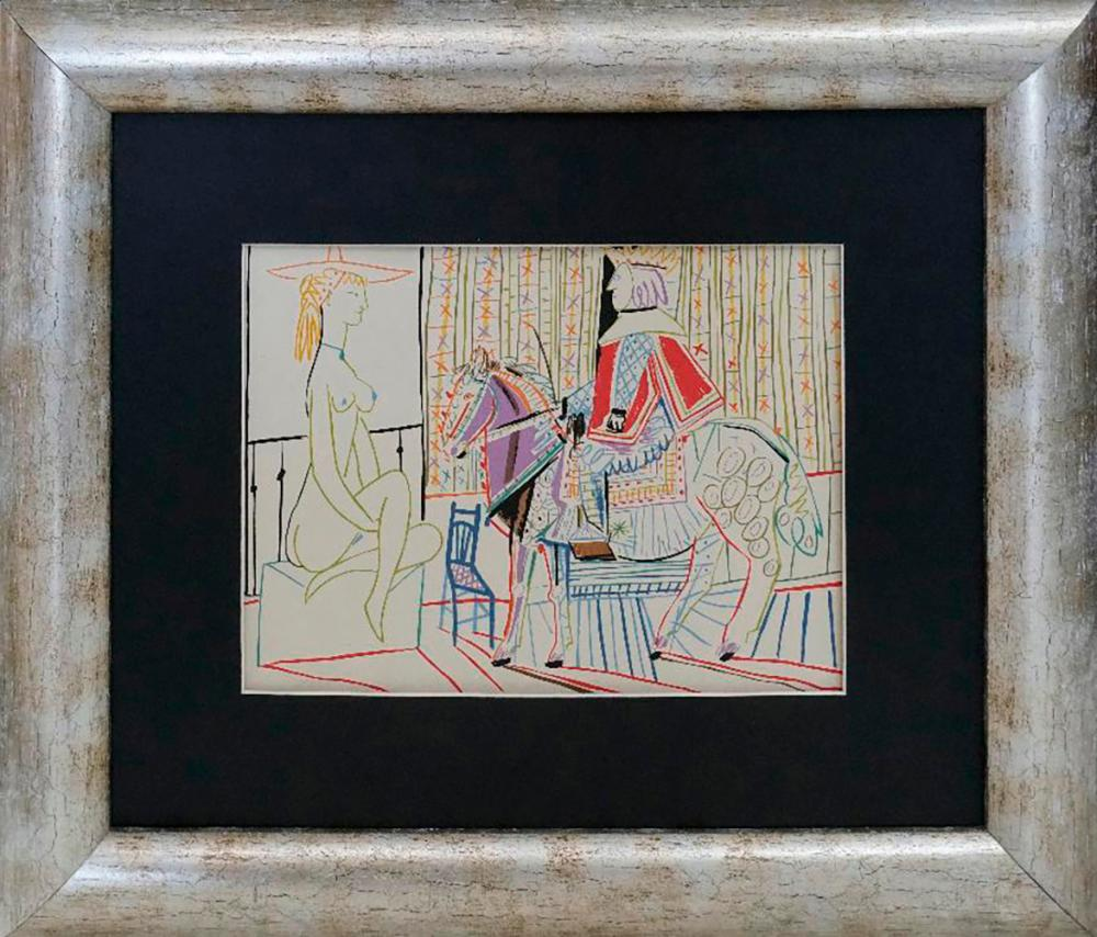 Lot 3404: Pablo Picasso Lithograph from 1968