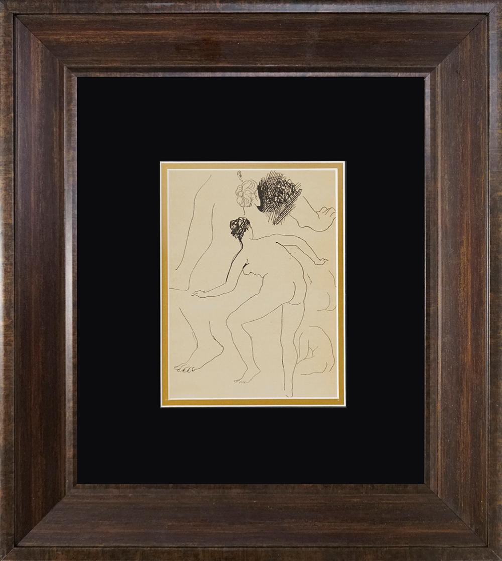 Lot 3482: Pablo Picasso lithograph from 90 years ago Antique on Velin from 1926 Paris