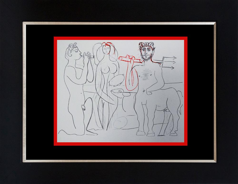 Lot 3481: Picasso lithograph Antibes Collection