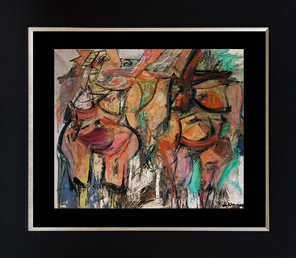 Lot 3504: Willem de Kooning Color plate lithograph from 1958