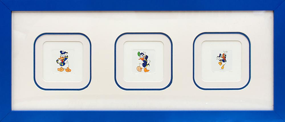 Lot 3509: Limited Edition Hand colored etching Disney