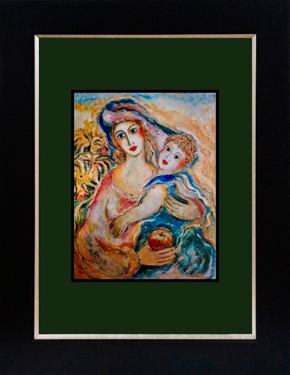 Lot 3487: Zamy Steynovitz Hand signed serigraph Judaica Art
