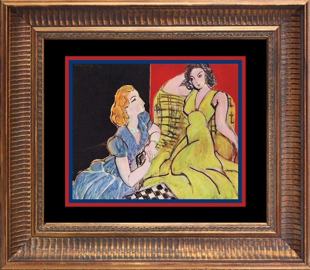 Lot 3388: Henri Matisse 1948 Lithograph