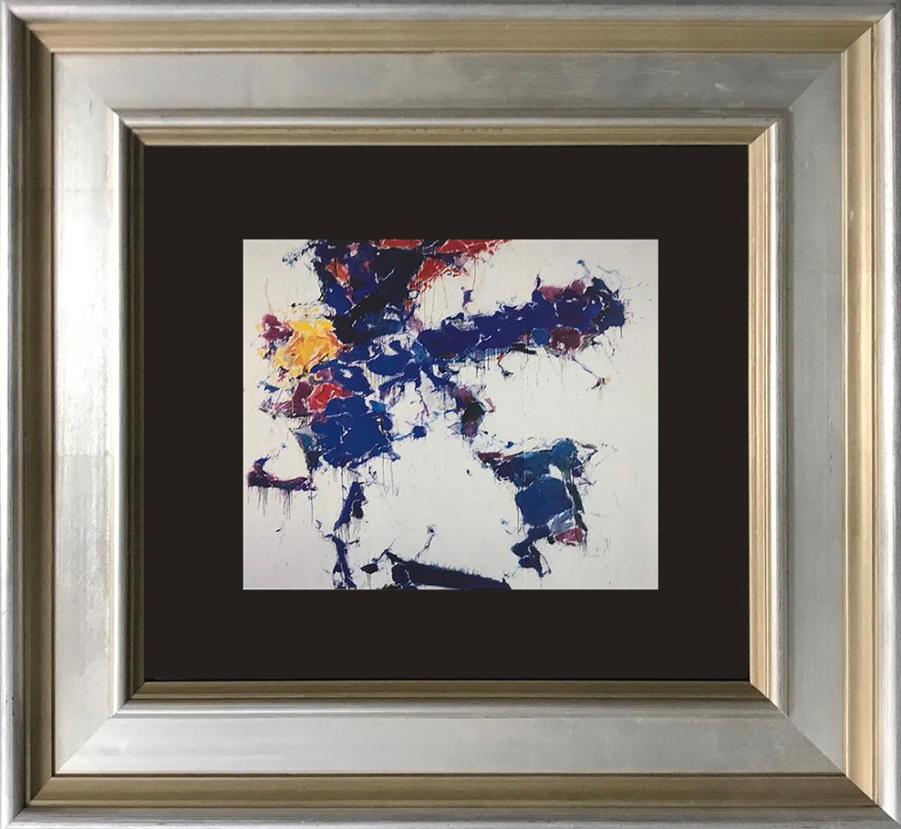 Lot 3530: Sam Francis color plate lithograph