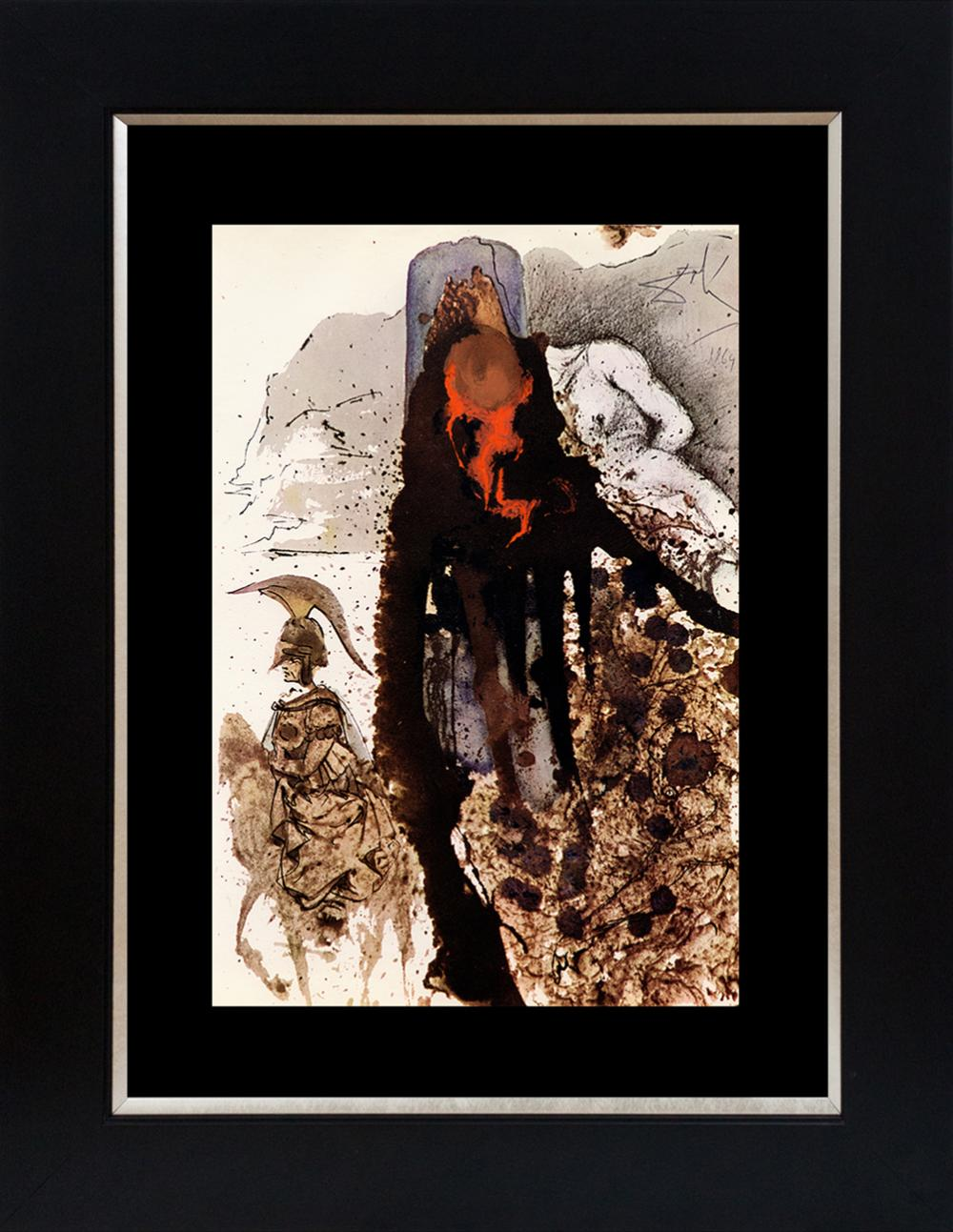 Lot 3537: Salvador Dali Biblia Sacre Lithograph from 1969
