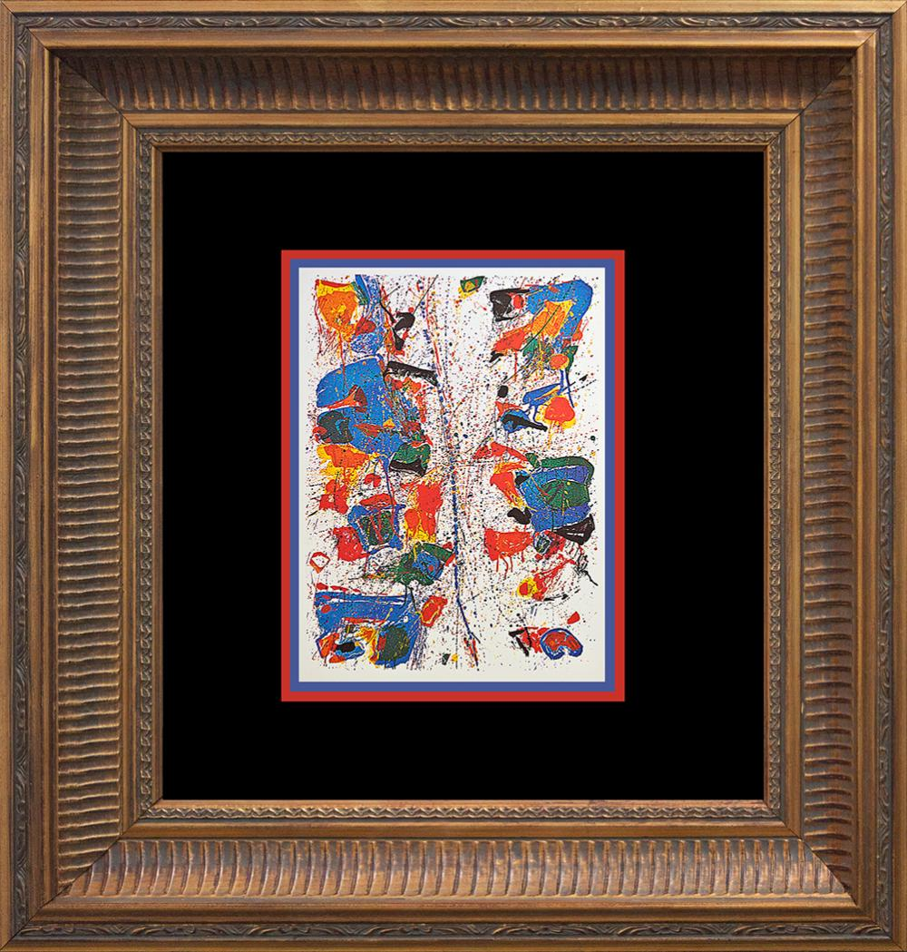 Lot 3532: Sam Francis The White Line 1960 Lithograph