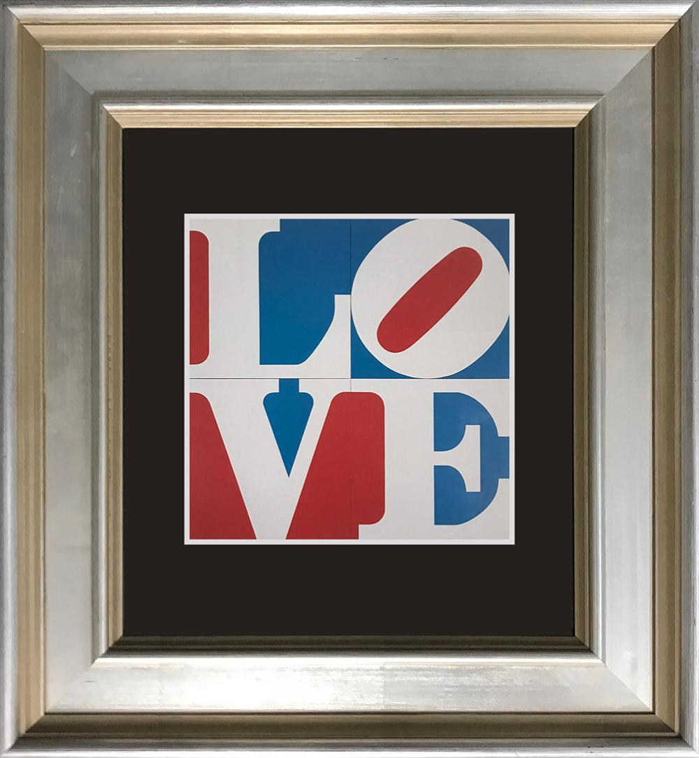 Lot 3542: Robert Indiana color plate Lithograph