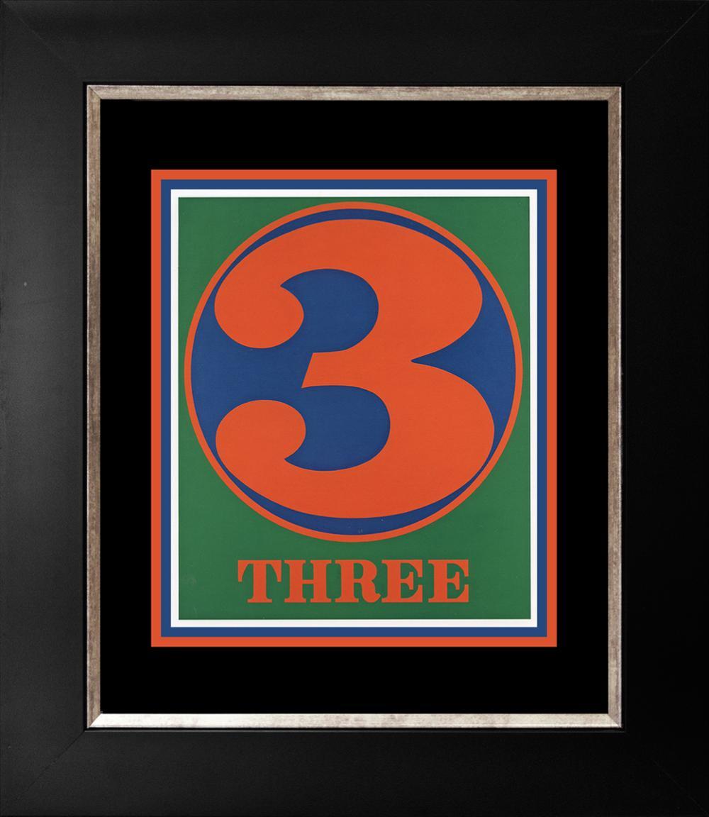 Lot 3541: Robert Indiana Three Lithograph