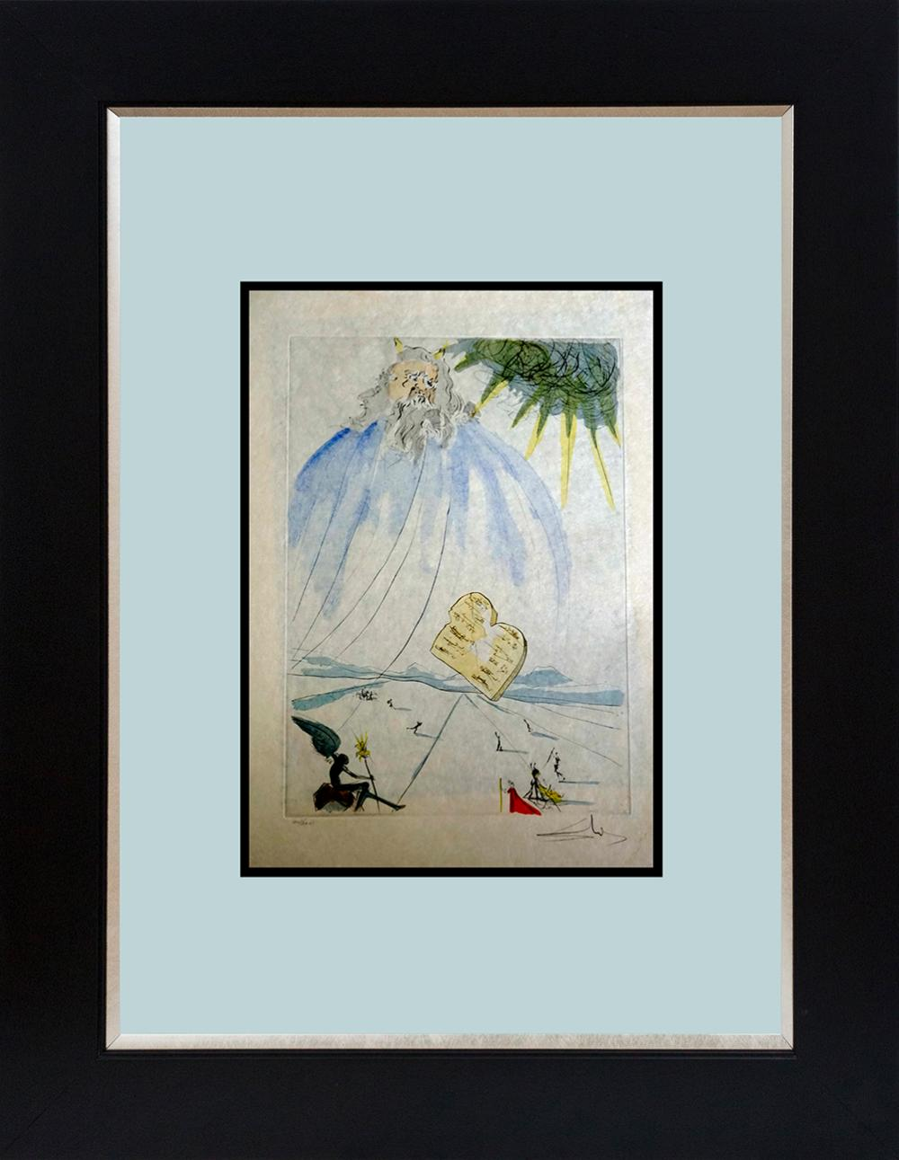 Lot 3526: Salvador Dali Limited Edition Lithograph