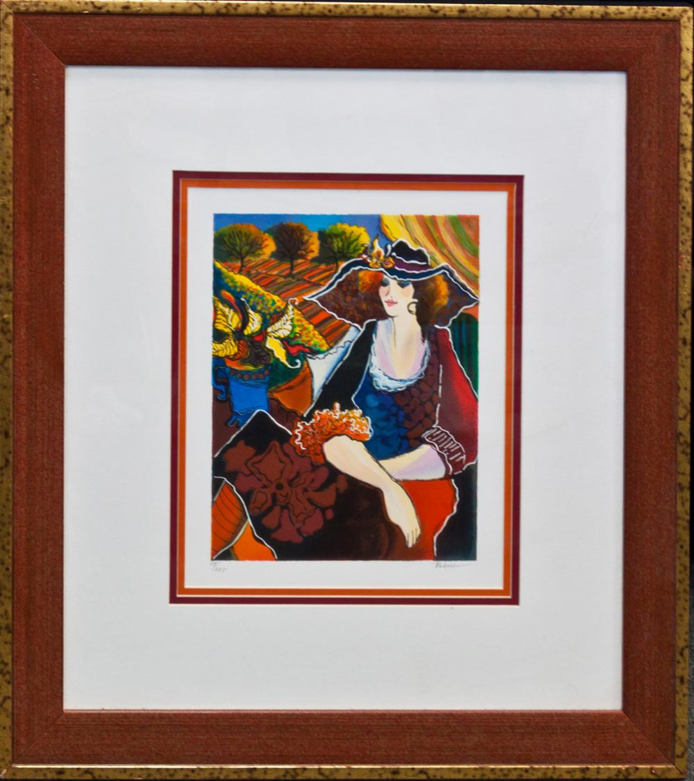 Lot 3567: Patrica Limited Edition Hand Signed Serigraph