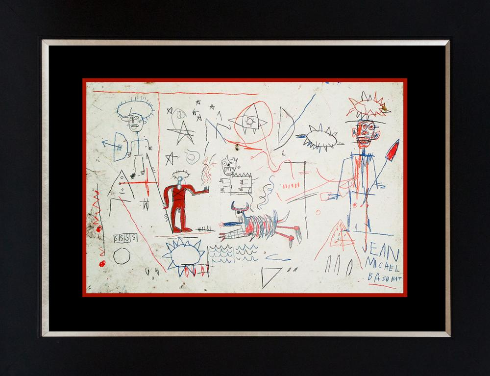 Lot 3520: Basquiat Lithograph from 1982