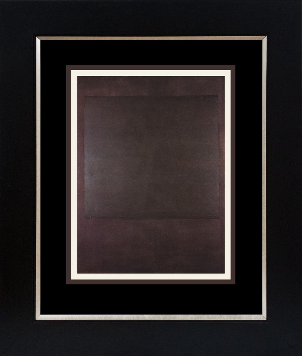 Lot 3583: Mark Rothko Color Plate Lithograph