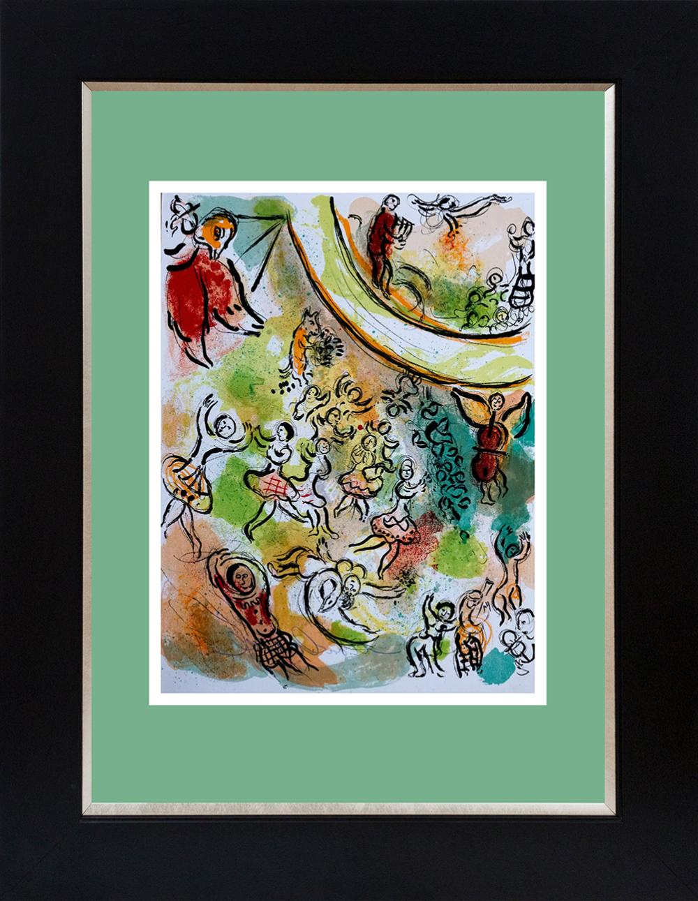 Lot 3575: Marc Chagall Lithograph Hand signed