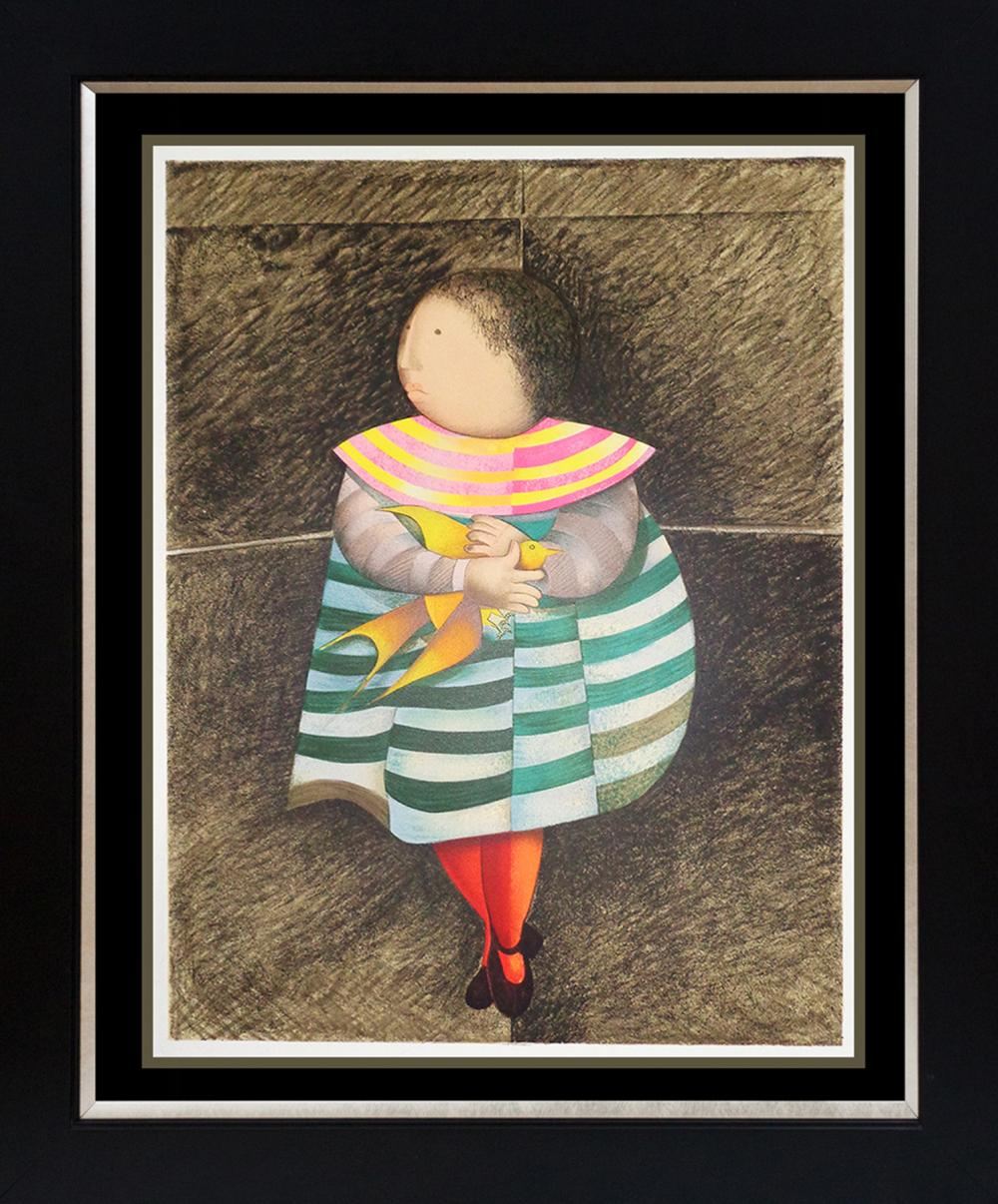 Lot 3521: Limited Edition Serigraph by Boulanger