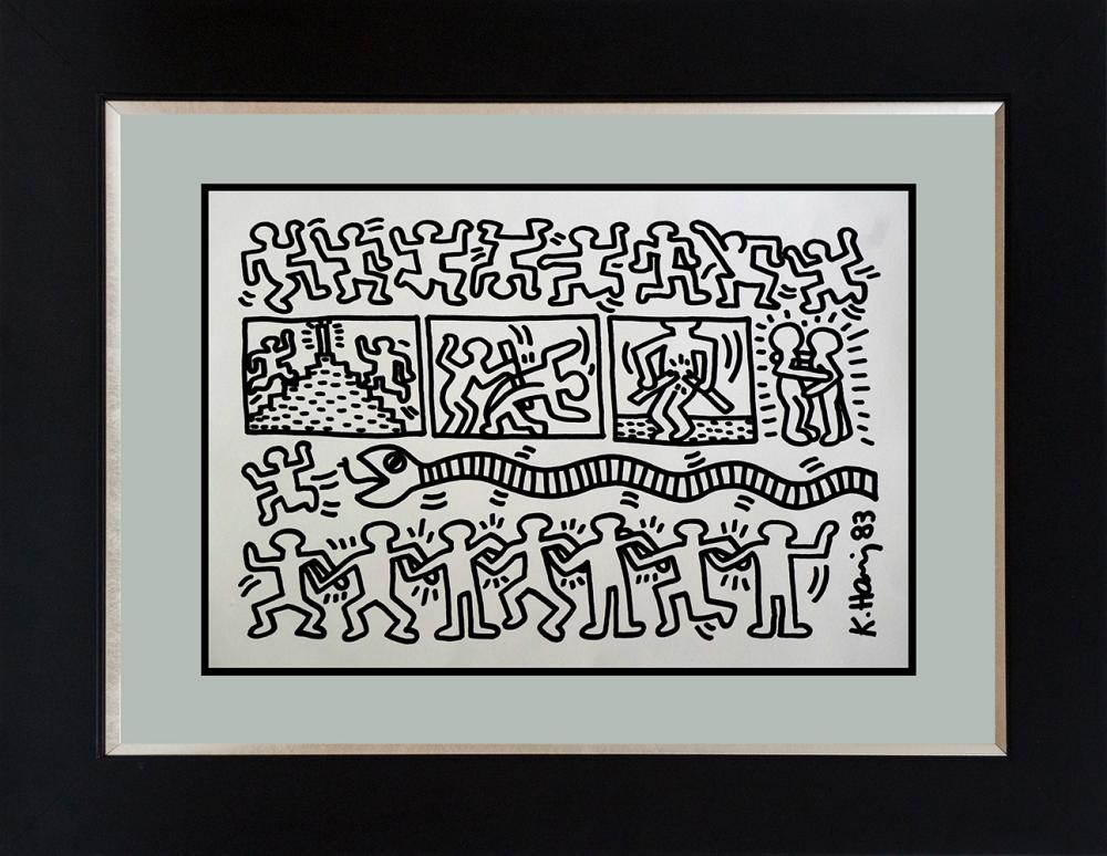 Lot 3577: Keith Haring Lithograph