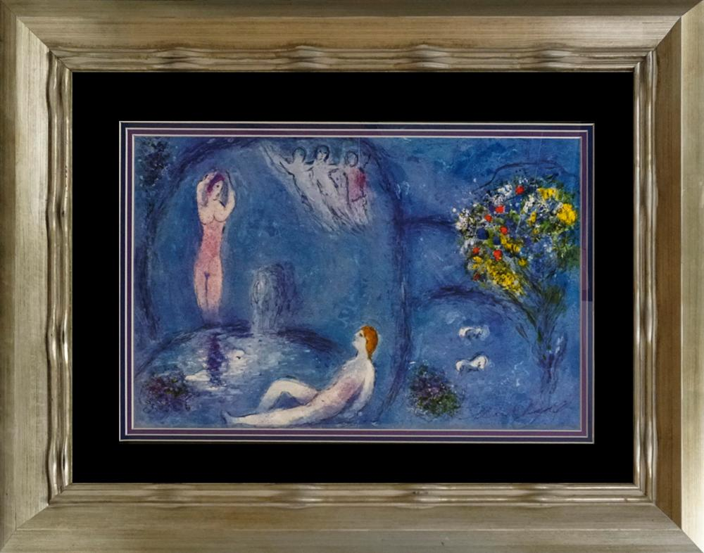 Lot 3599: Marc Chagall Lithograph Hand signed