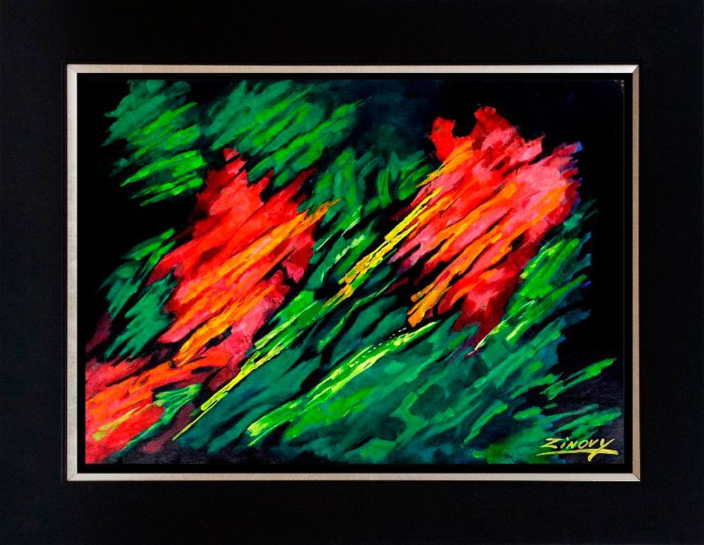 Lot 3572: Zinovy Shersher original on canvas