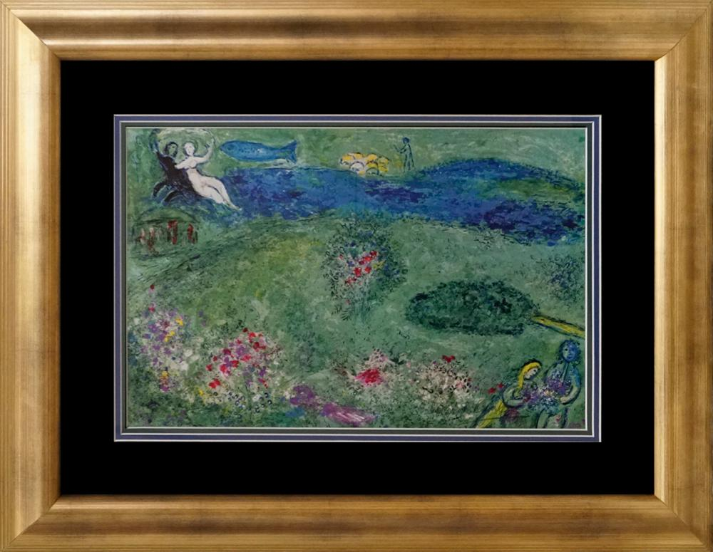 Lot 3597: Marc Chagall Lithograph Hand signed