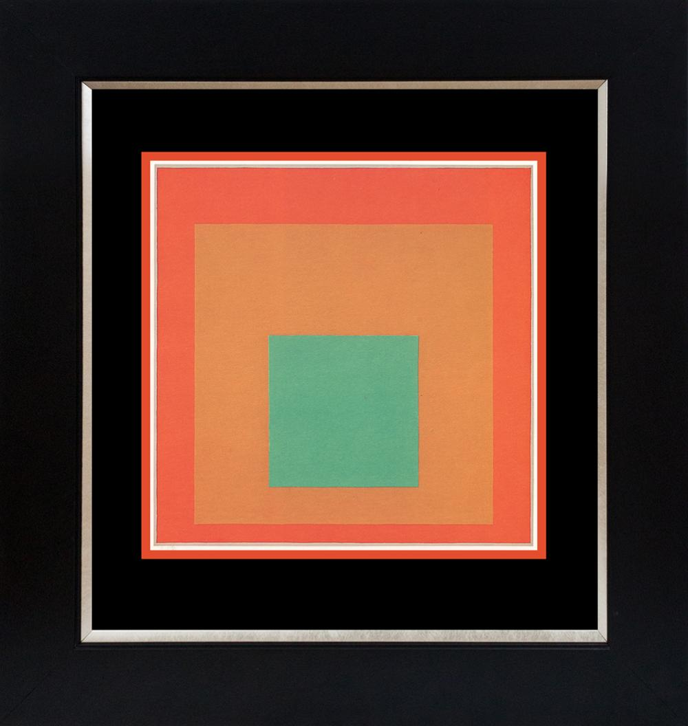 Lot 3616: Josef Albers Color Plate lithograph