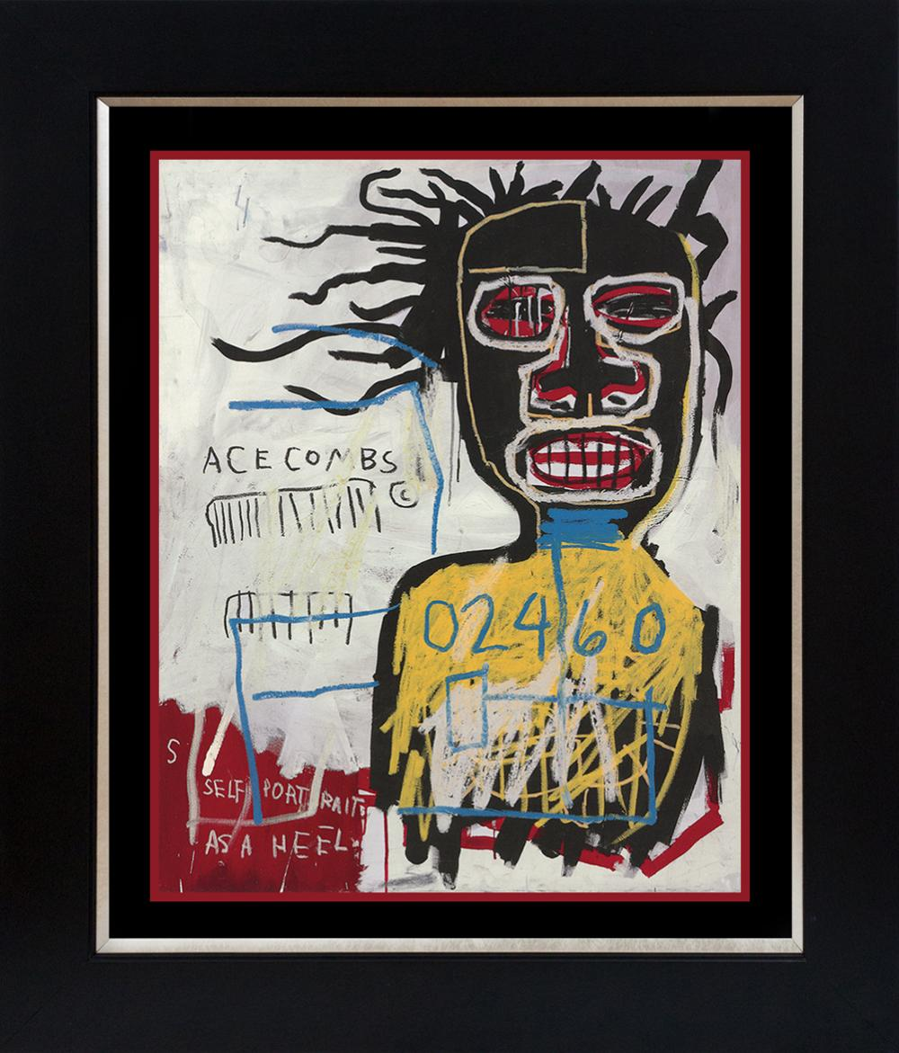Lot 3627: Jean Michel Basquiat Lithograph from 1986