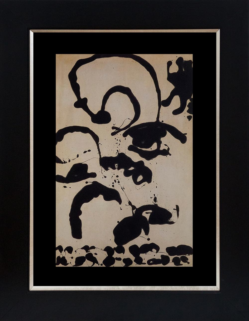Lot 3590: Jackson Pollock color plate lithograph