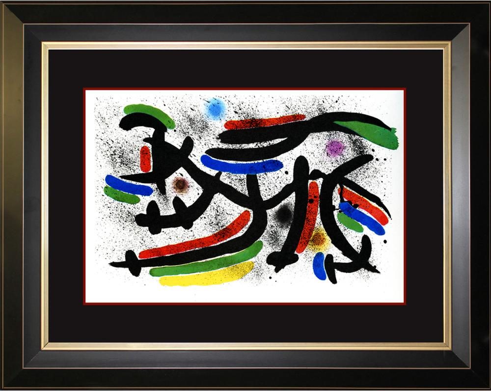 Lot 3620: Joan Miro Original Lithograph