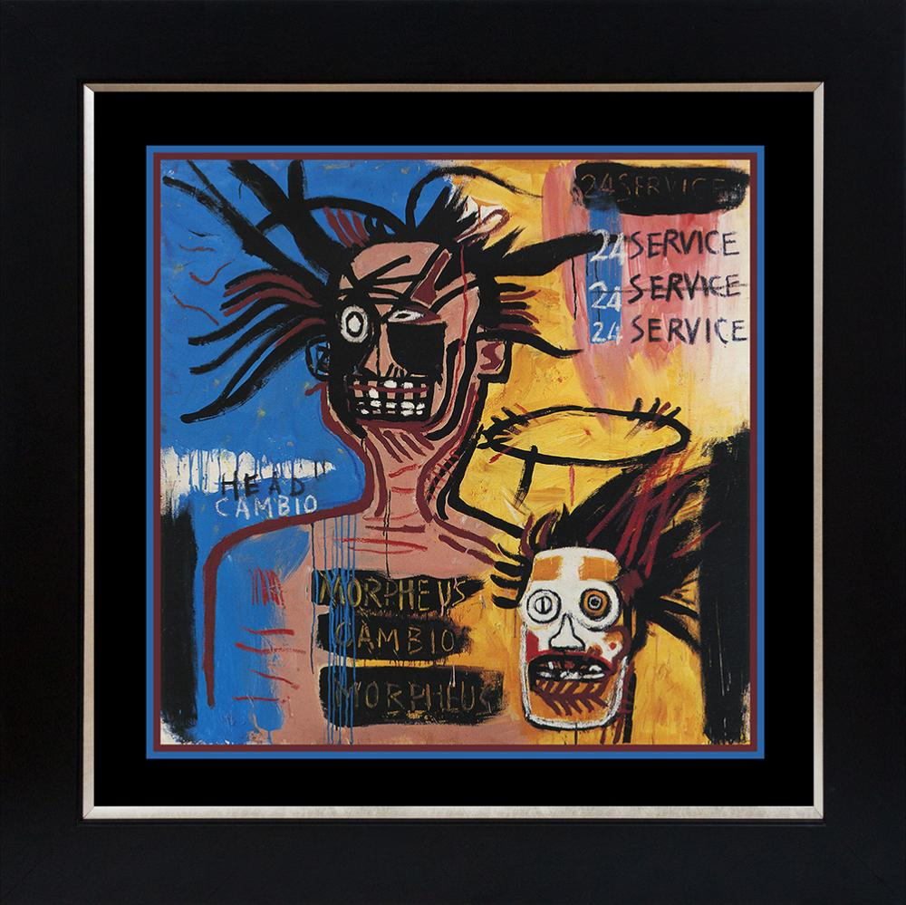 Lot 3630: Jean Michel Basquiat Lithograph from 1986