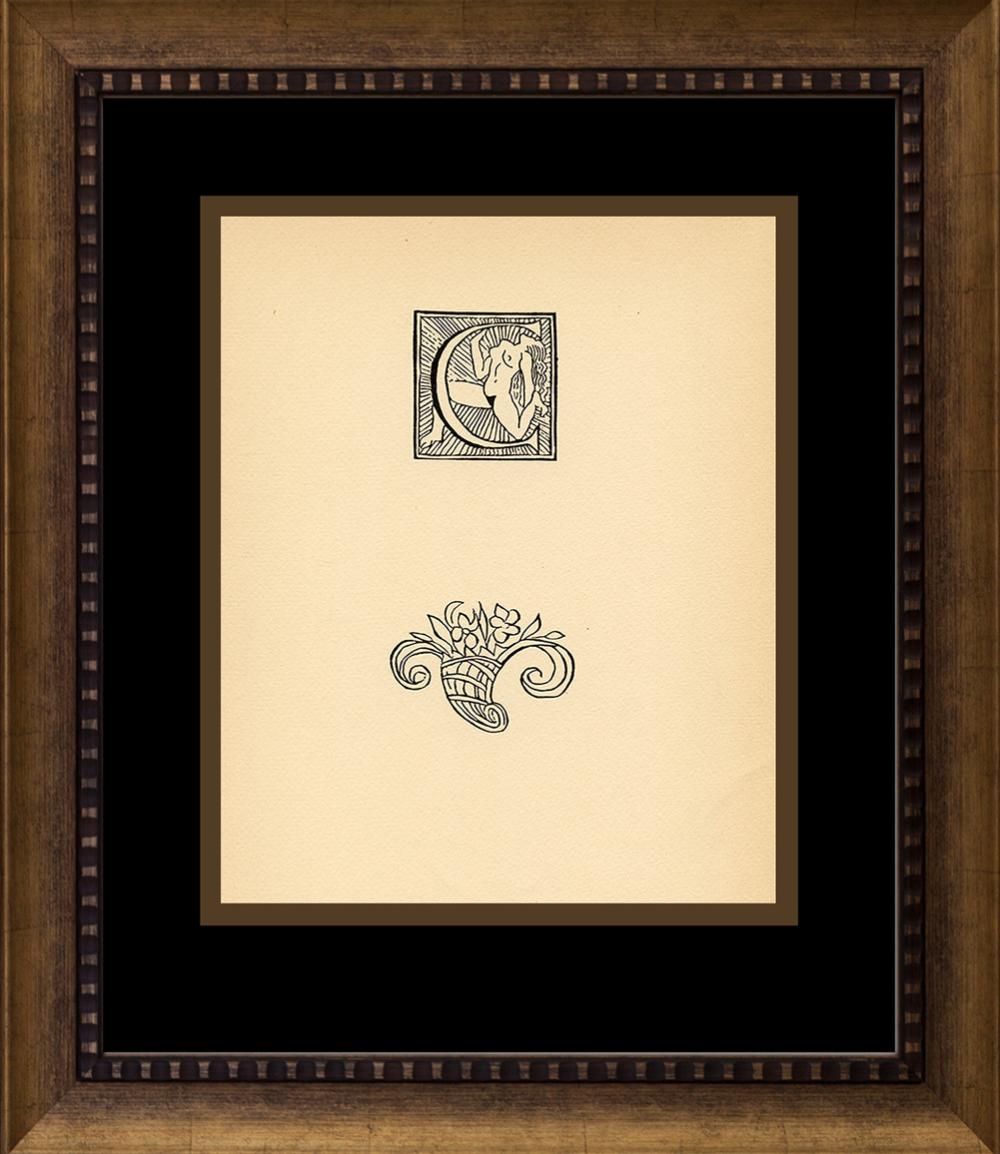 Lot 3759: Aristide Maillol Woodcut Wood Block from circa 1940s