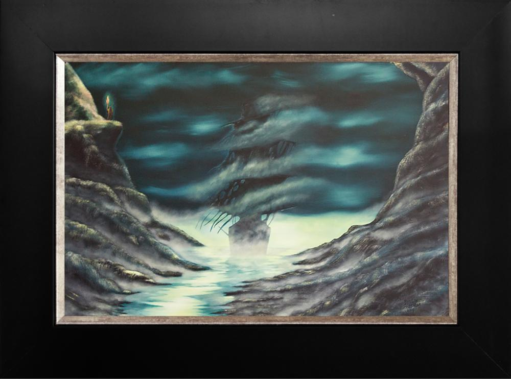 Lot 3753: Original oil on canvas by Baron