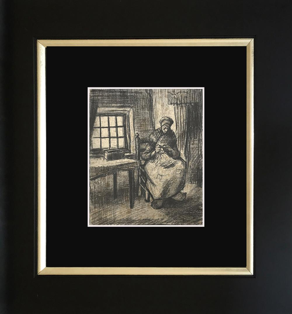 Lot 3633: Vincent Van Gogh color plate Lithograph