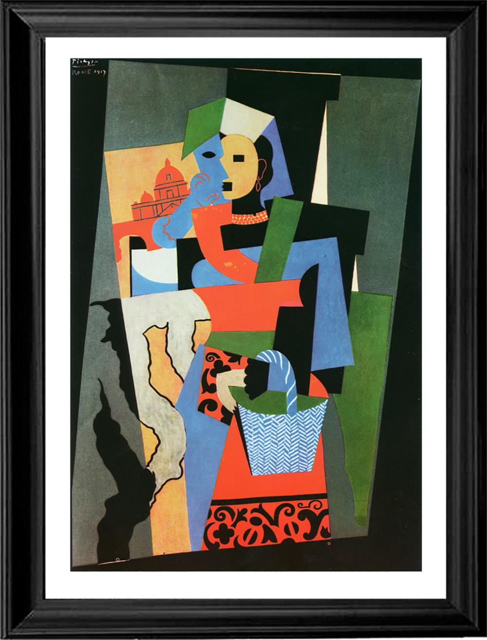 Lot 3626: Limited Edition Italian Girl after Pablo Picasso