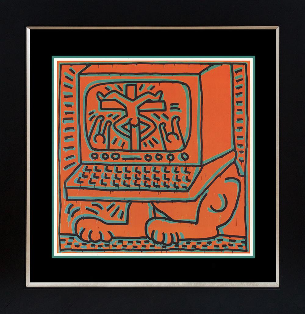 Lot 3628: Keith Haring Lithograph