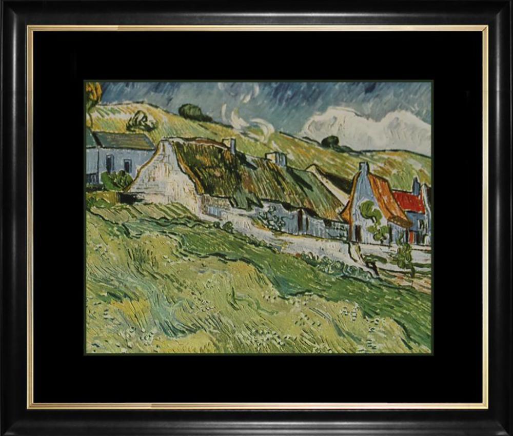 Lot 4003: Vincent Van Gogh embellished canvas