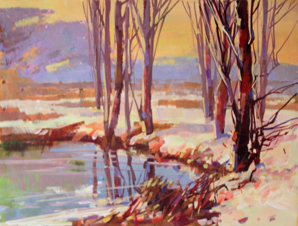 Lot 3828: Original Oil on canvas Mariya Martiros