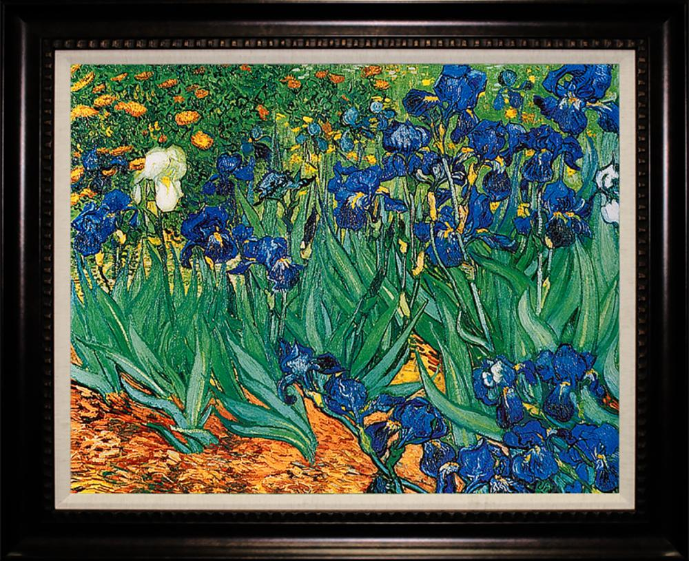 Lot 4001: After Van Gogh The Irises Limited Edition Giclee