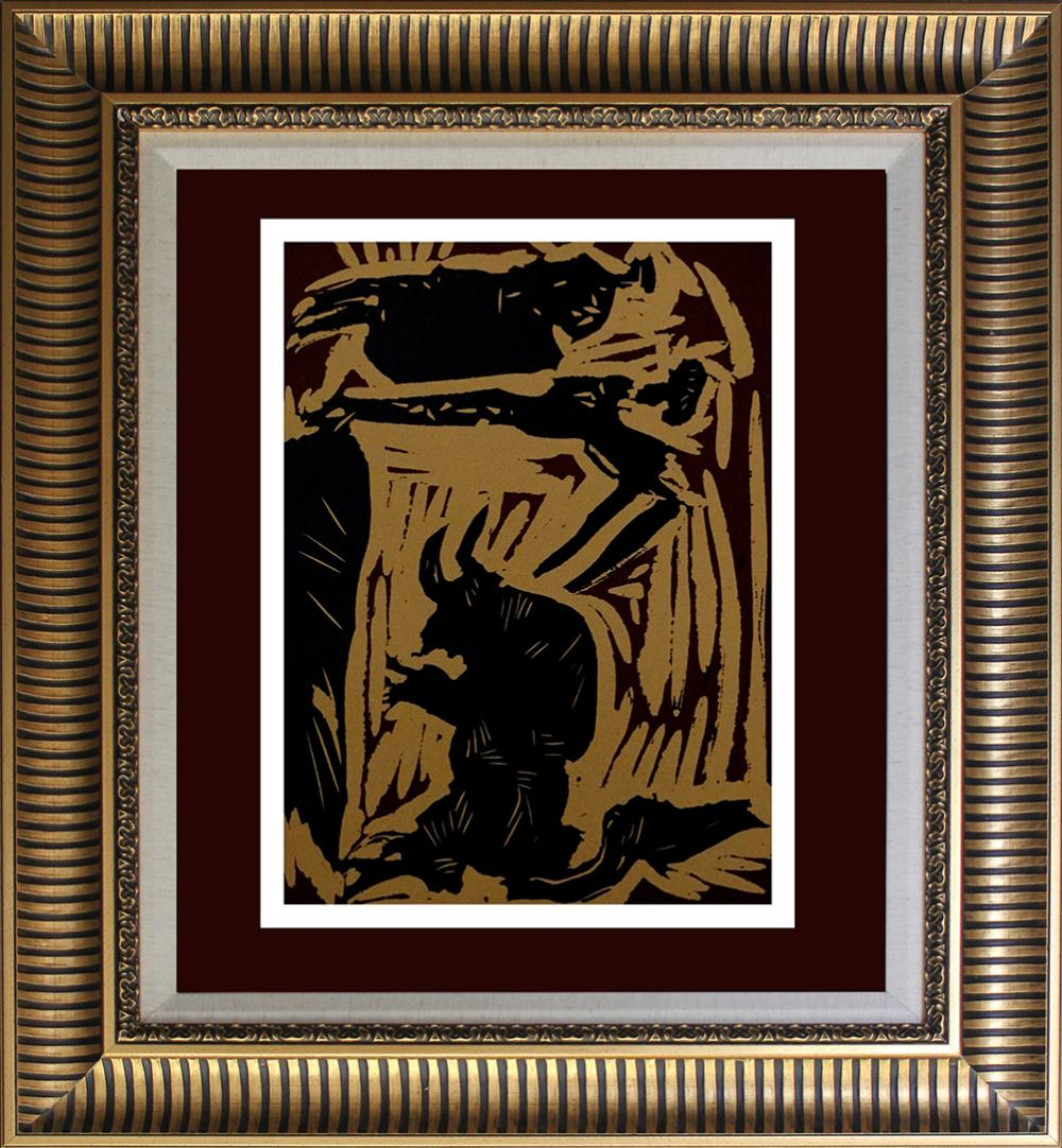 Lot 4106: Pablo Picasso Linocut from 1961