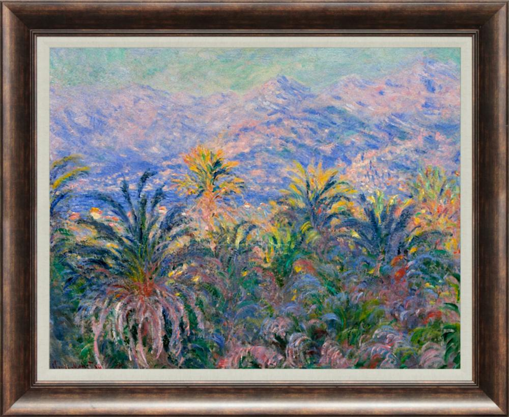 Lot 4007: Renoir Palm trees at Bordighera Hand Embellished Giclee