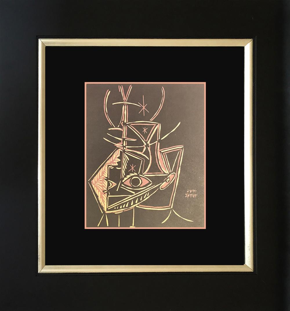 Lot 4128: Pablo Picasso Color Plate Lithograph