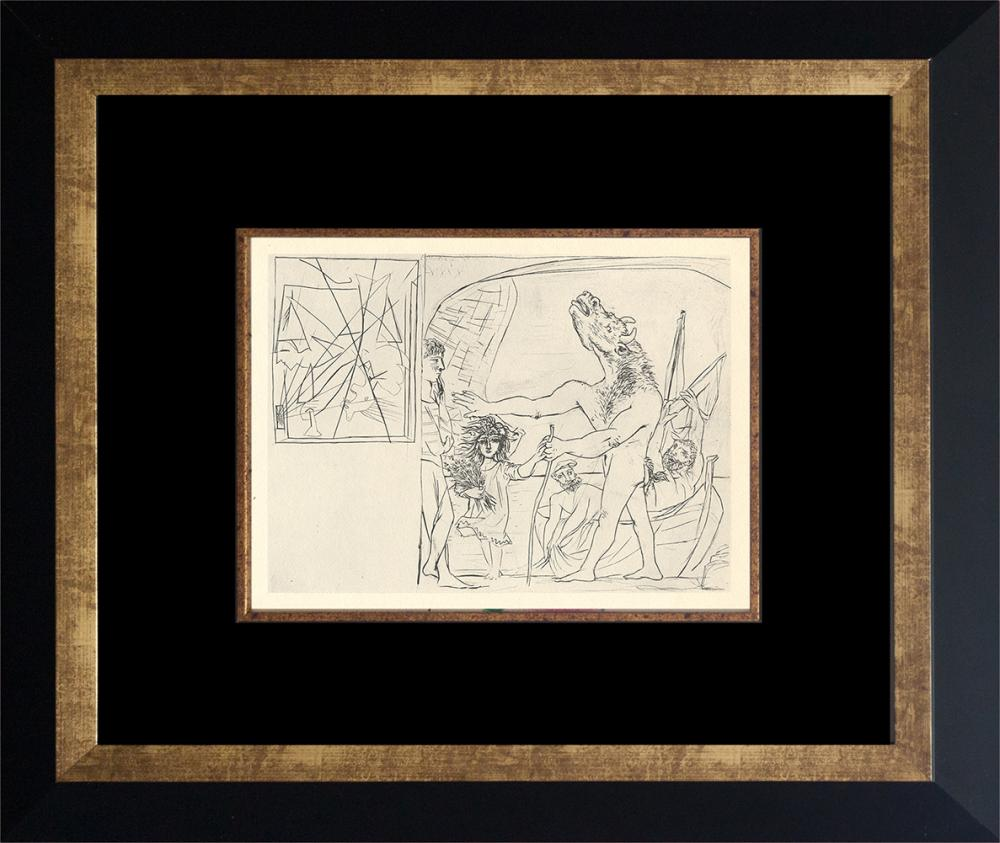 Lot 4115: Pablo Picasso Lithograph Vollard Collection from 1956 Germany