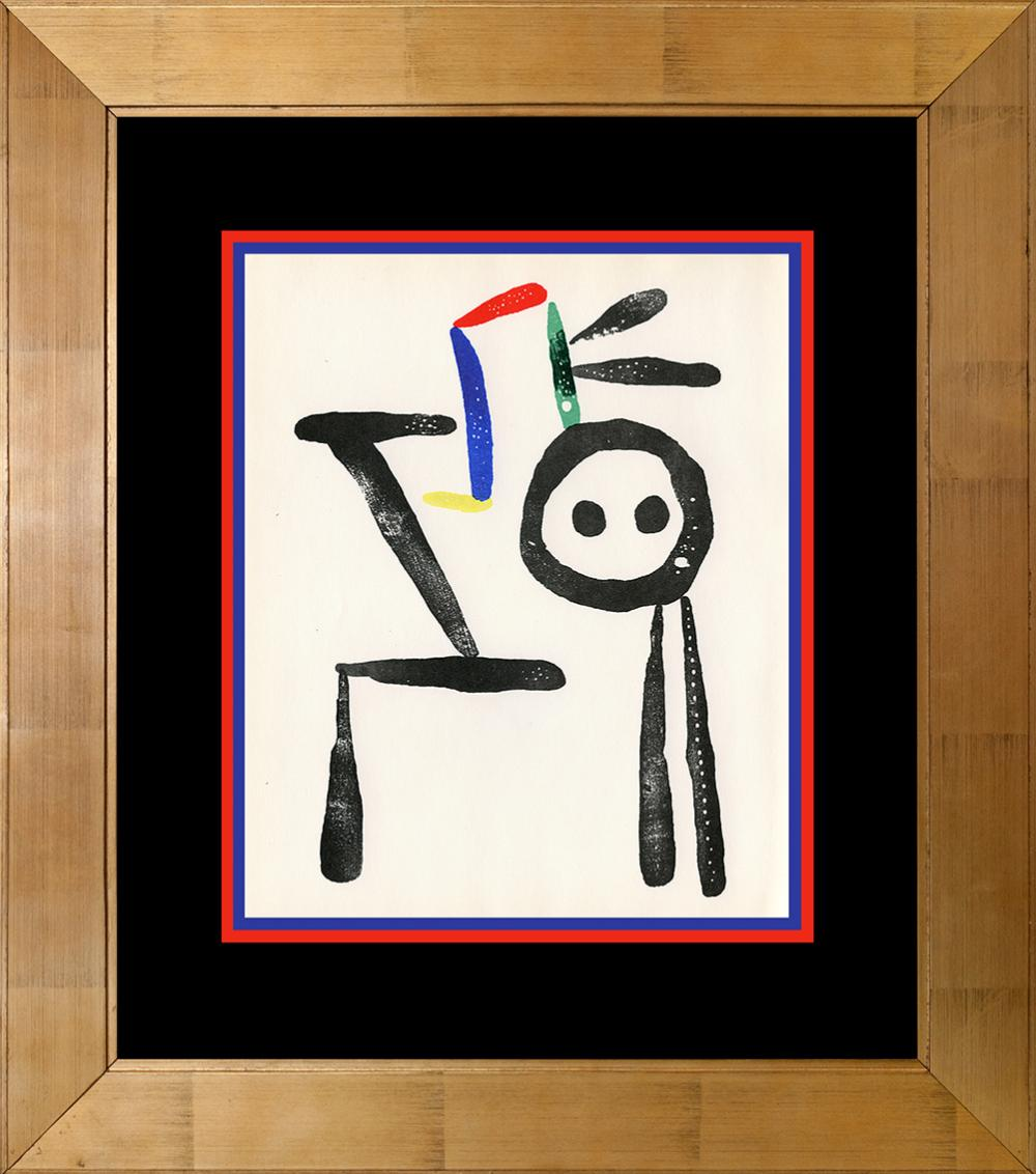 Lot 4201: Joan Miro Original Lithograph from 1959
