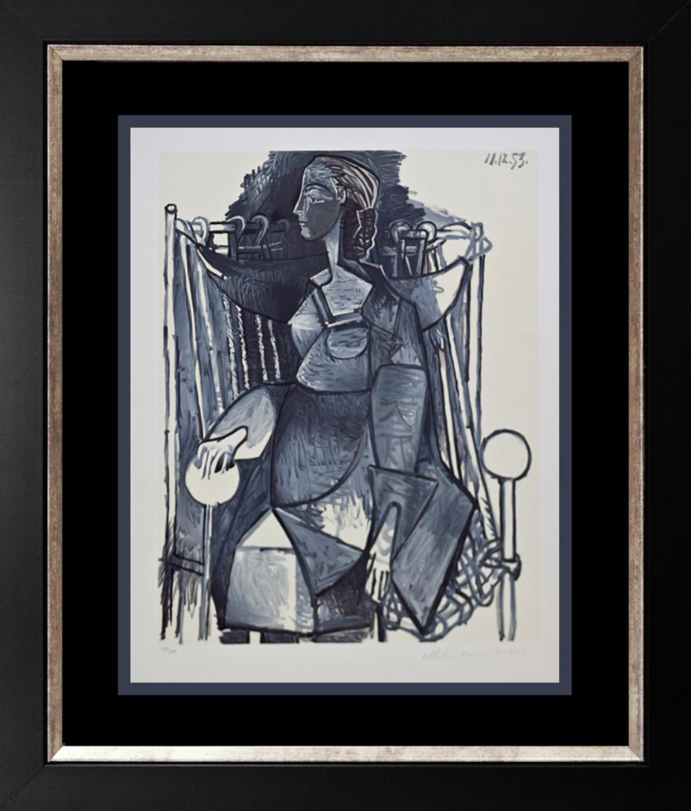 Lot 4167: Pablo Picasso Limited Edition Lithograph, Marina Picasso Edition