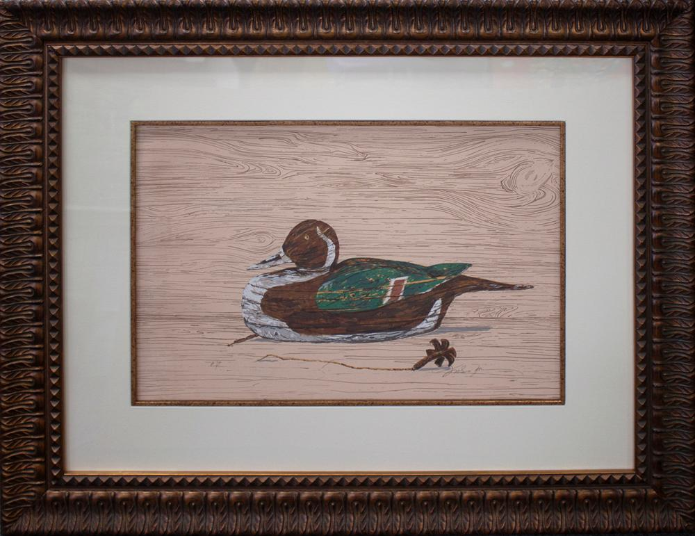 Lot 4138: Limited Edition Duck Serigraph Michael Schofield