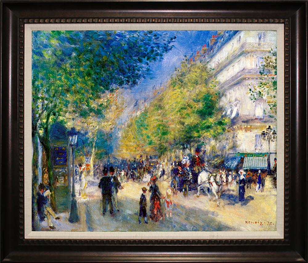 Lot 4130: Pierre Renoir-Limited Edition Great Boulevards