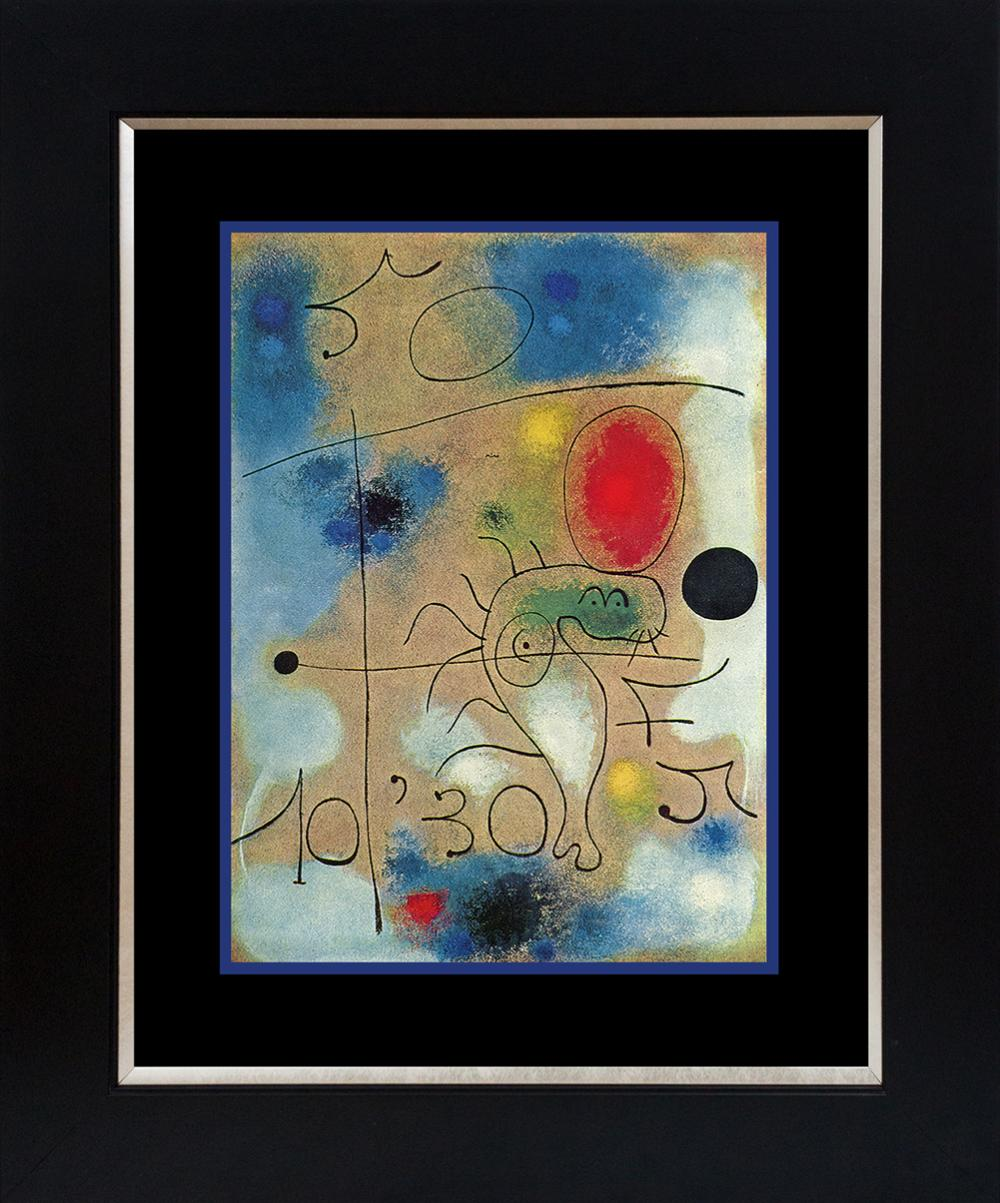 Lot 4157: Joan Miro Color Plate Lithograph