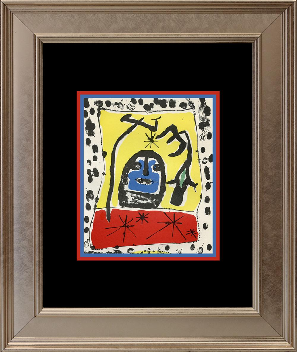 Lot 4200: Joan Miro Lithograph from the Maeght Foundation from 1959