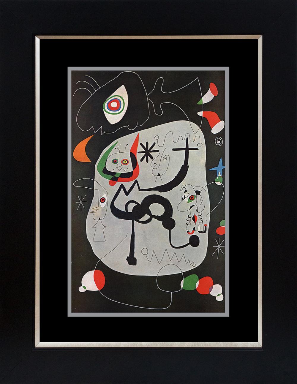 Lot 4158: Joan Miro Color Plate Lithograph